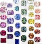 coloured sapphire