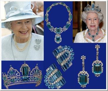 Queen-Elizabeth-II-Aquamarine-Jewelry